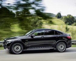 2017 Mercedes-AMG GLC 43 4Matic Coupe. Image by Mercedes-AMG.
