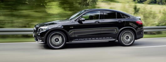 AMG's GLC 43 now comes in Coupe flavour. Image by Mercedes-AMG.