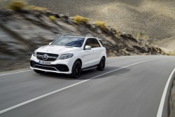 2015 Mercedes-AMG GLE 63 S 4Matic. Image by Mercedes-AMG.