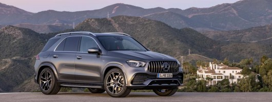 First Mercedes-AMG GLE is the 53 hybrid. Image by Mercedes-AMG.