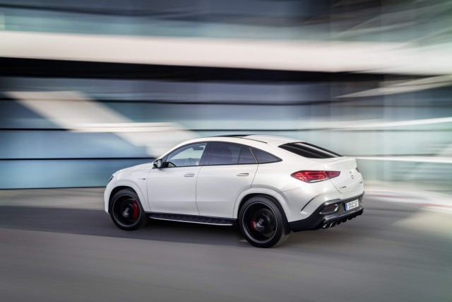 Mercedes-AMG ports V8 over to GLE Coupe. Image by Mercedes AG.