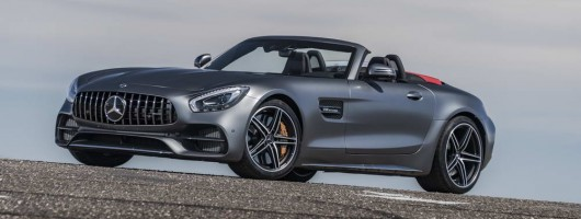 First drive: Mercedes-AMG GT C Roadster. Image by Mercedes-AMG.