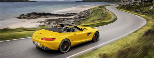 Mercedes-AMG fills gap with GT S Roadster. Image by Mercedes-AMG.