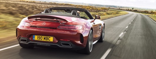 Driven: Mercedes-AMG GT C Roadster. Image by Mercedes-AMG.