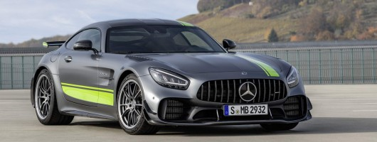 Merc shows off updated AMG GT range. Image by Mercedes-AMG.