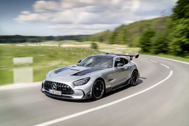 Extreme Mercedes-AMG GT Black Series debuts. Image by Mercedes-AMG.