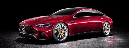 Mercedes-AMG to launch four-door GT. Image by Mercedes-AMG.