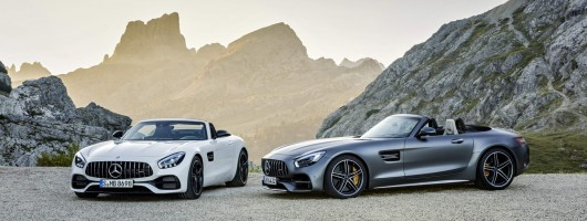 Stunning new Mercedes-AMG GT Roadster. Image by Mercedes-AMG.