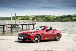 2016 Mercedes-AMG SLC 43. Image by Mercedes-AMG.