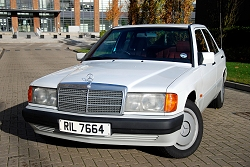 Mercedes-Benz 190E. Image by Kyle Fortune.
