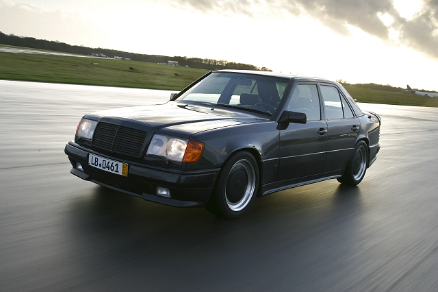 The car enthusiast image gallery 1986 mercedes benz for Mercedes benz hammer