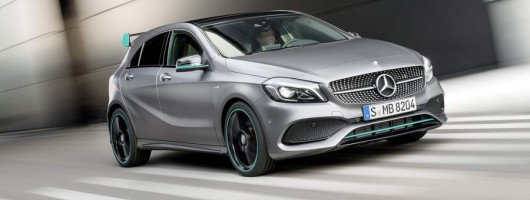Adaptive damping added to Mercedes A-Class. Image by Mercedes-Benz.