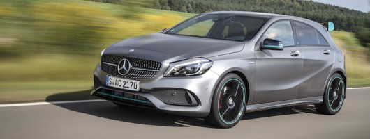 First drive: Mercedes-Benz A 250 AMG. Image by Mercedes-Benz.