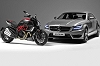 2011 Mercedes-Benz AMG-Ducati tie-up. Image by Mercedes-Benz.