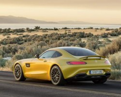 Incoming: Mercedes-AMG GTS. Image by Mercedes-AMG.