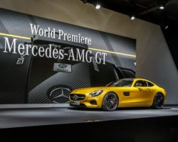 Paris Motor Show. Image by Mercedes-AMG.