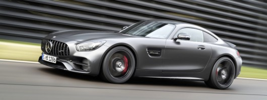 First drive: Mercedes-AMG GT C Coupe. Image by Mercedes.
