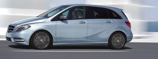 Incoming: Mercedes-Benz B-Class. Image by Mercedes-Benz.