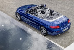 2016 Mercedes-Benz C-Class Cabriolet. Image by Mercedes-Benz.