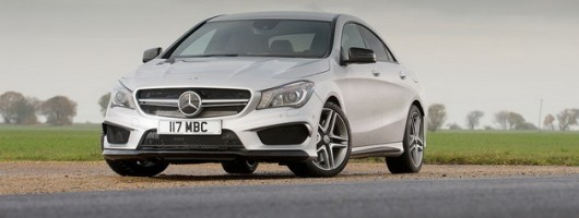 Driven: Mercedes-Benz CLA 45 AMG. Image by Mercedes-Benz.