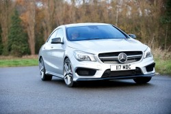 2014 Mercedes-Benz CLA 45 AMG. Image by Mercedes-Benz.
