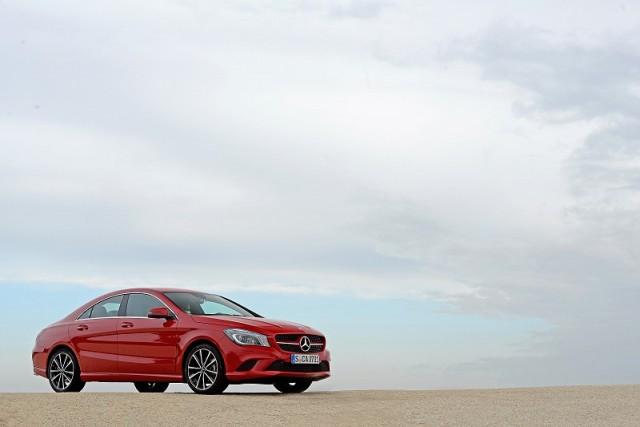 First drive: Mercedes-Benz CLA. Image by Mercedes-Benz.
