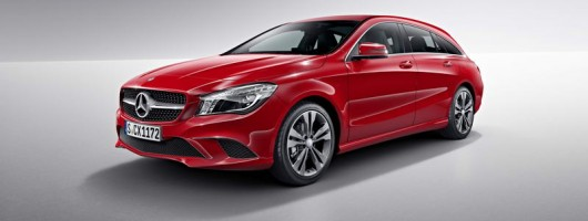 CLA Shooting Brake loads up for Mercedes. Image by Mercedes-Benz.