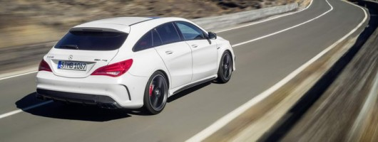 Merc Shooting Brake CLA 45 revealed. Image by Mercedes-Benz.