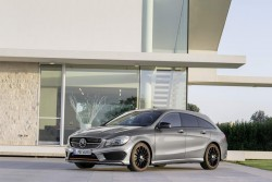 2015 Mercedes-Benz CLA Shooting Brake. Image by Mercedes-Benz.