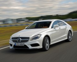 New entry-level CLS. Image by Mercedes-Benz.