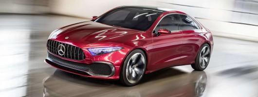 Is Mercedes readying an A-Class Saloon? Image by Mercedes-Benz.