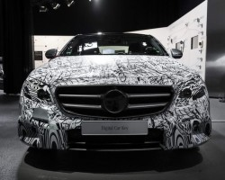 Incoming: 2016 Mercedes E-Class. Image by Mercedes-Benz.