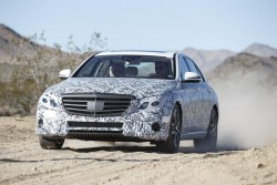 2016 Mercedes-Benz E-Class under disguise. Image by Mercedes-Benz.