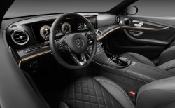 2016 Mercedes-Benz E-Class interior. Image by Mercedes-Benz.