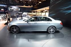2016 Mercedes-Benz E-Class. Image by Newspress.