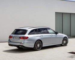 Incoming: Mercedes-Benz E-Class Estate. Image by Mercedes-Benz.