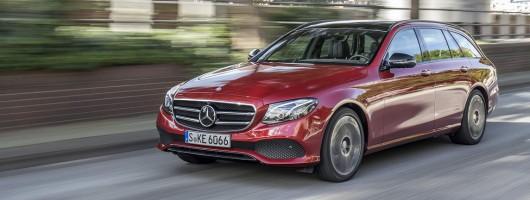 First drive: Mercedes-Benz E 220 d Estate. Image by Mercedes-Benz.