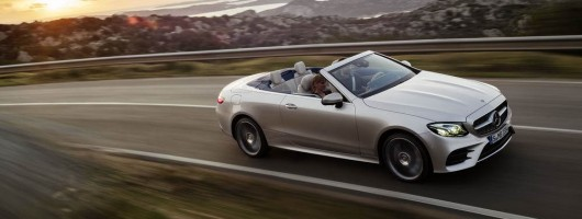 Mercedes completes E-Class family with Cabriolet. Image by Mercedes-Benz.