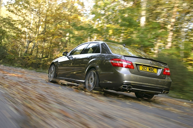 First Drive: Mercedes-Benz E 63 AMG Performance Pack. Image by Charlie Magee.
