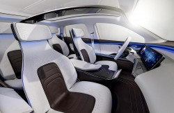 2016 Mercedes-Benz Generation EQ concept. Image by Mercedes-Benz.