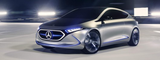 Mercedes Concept EQA makes debut in Frankfurt. Image by Mercedes-Benz.