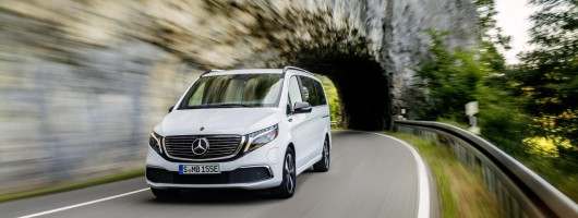 Mercedes EQV is the first premium electric MPV. Image by Mercedes AG.