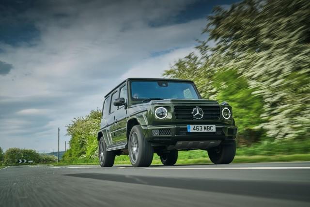 Driven: Mercedes-Benz G 350 d. Image by Mercedes UK.