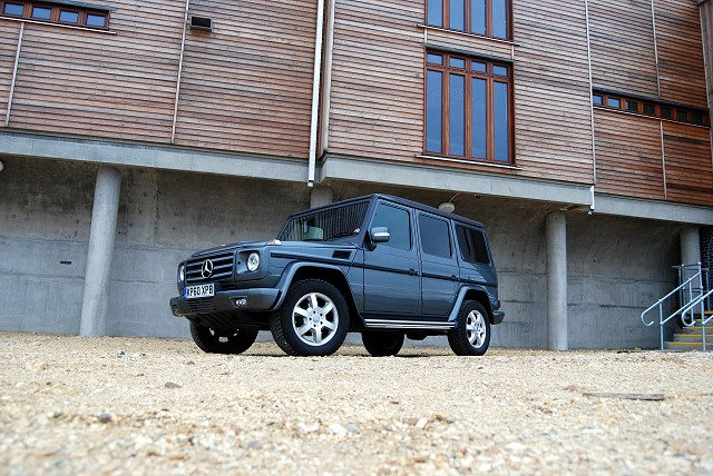 First Drive: Mercedes-Benz G-Wagen. Image by Kyle Fortune.