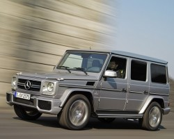 Incoming: Mercedes-Benz G 63 AMG. Image by Mercedes-Benz.