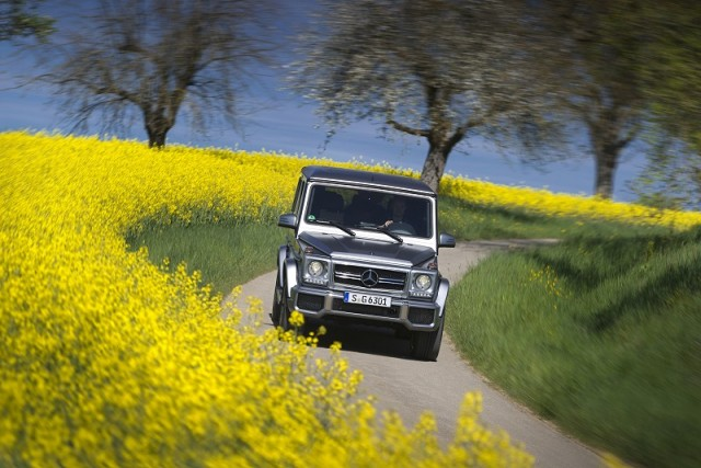First drive: Mercedes-Benz G 63 AMG. Image by Mercedes-Benz.