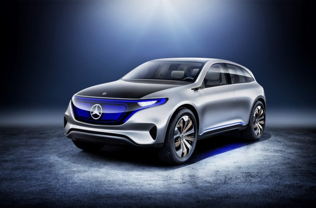 Mercedes-Benz EQ leads Paris charge. Image by Mercedes-Benz.