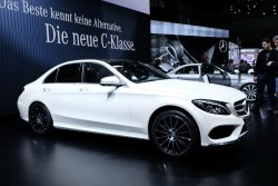 2014 Mercedes-Benz at Geneva. Image by Newspress.