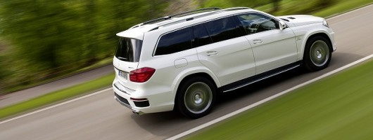 Mercedes-Benz GL 63 AMG revealed. Image by Mercedes-Benz.