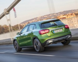 Updated Mercedes GLA. Image by Mercedes-Benz.